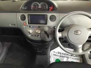 シエンタ運転席(クイック車内クリーニング)