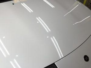 Z32・プレミアムコーティング・ボンネットの輝き3