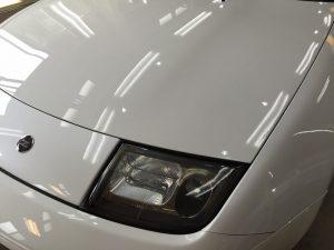 Z32・プレミアムコーティング・ボンネットの輝き4