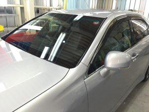 クラウン(180系)・窓ガラス撥水コーティング