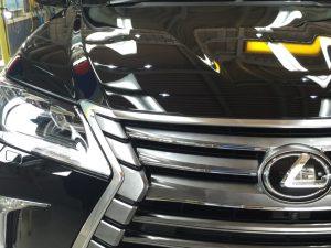 レクサスLX570・プレミアムコーティング・運転席側ヘッドライト