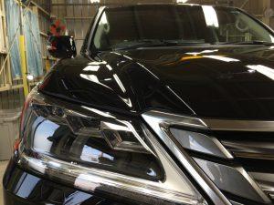 レクサスLX570・プレミアムコーティング・運転席側正面