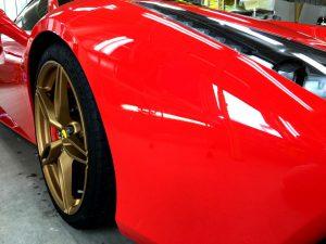 フェラーリ488・エシュロンゼンゼロ・右前方より