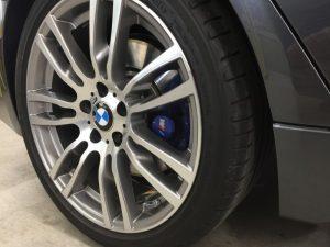 BMW320dMスポーツ・エシュロンホイールコーティング