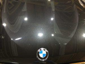 BMWX3・ジーゾックス・ハイドロフィニッシュ施工後のボンネット