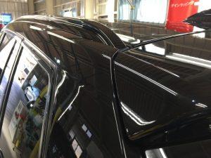 BMWX3・ジーゾックス・ハイドロフィニッシュ施工後のルーフ