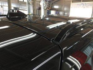 BMWX3・ジーゾックス・ハイドロフィニッシュ施工後のルーフ2