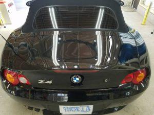 BMWZ4・プレミアムコーティング後のトランク