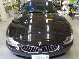 BMWZ4・プレミアムコーティング後のボンネット