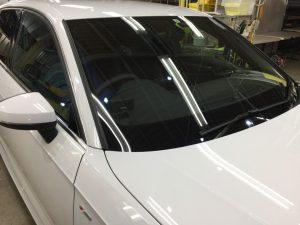 アウディA3・窓ガラスコーティング・フロントガラス