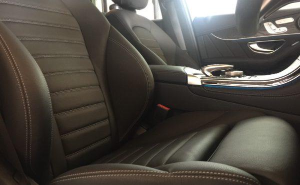 ベンツGLC・インテリアコーティング施工後の運転席2