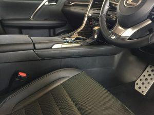 レクサスRX・インテリアコーティング施工後の運転席周り