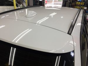BMW3ツーリング・ハイドロフィニッシュ施工後のルーフ