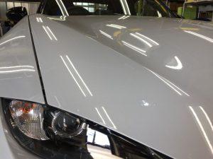 ロードスター・ナノフィル施工後の運転席側ヘッドライト付近②