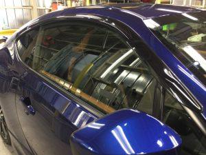 86・窓ガラスコーティング施工後の運転席窓
