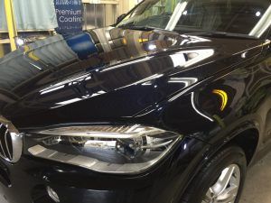 BMW5・エシュロンゼンゼロ施工後のボンネット