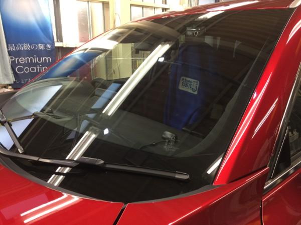 CX-8・窓ガラスコーティング