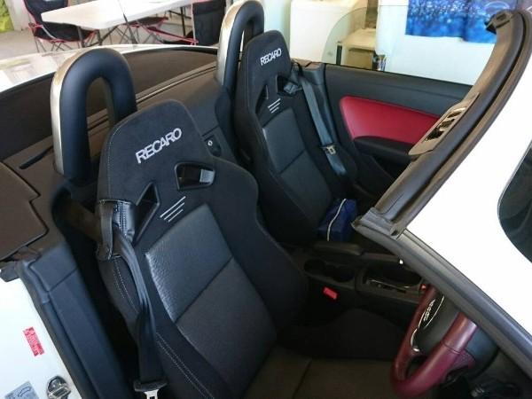アウディTT・プレミアム車内クリーニング