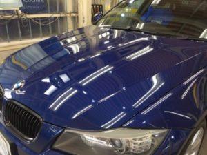 BMW3・ハイモースコート施工後のボンネット
