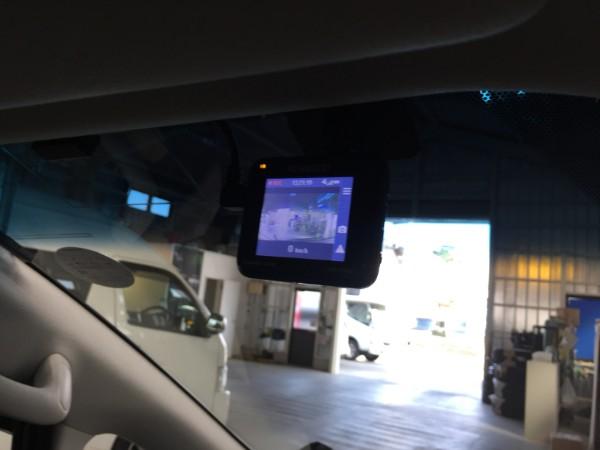 アルファード・ドライブレコーダー取付2
