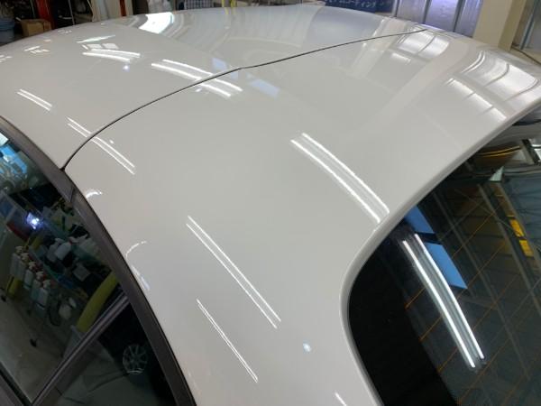 BMWZ4・スタンダードコーティング後のルーフ