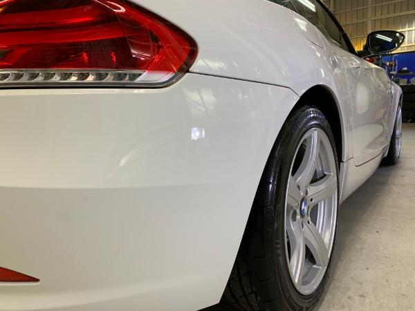 BMWZ4・スタンダードコーティング後の右テール付近