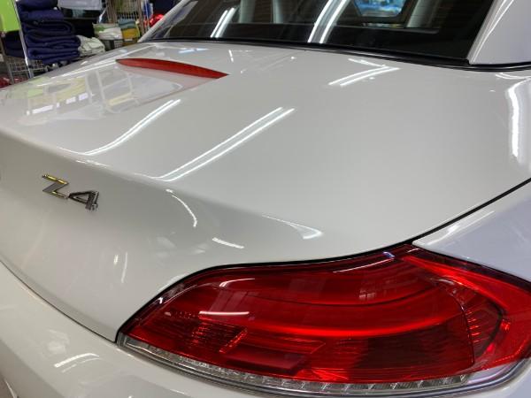 BMWZ4・スタンダードコーティング後のトランク