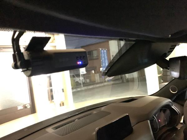 CX8・ドライブレコーダー取付・フロント