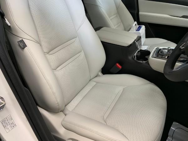 CX8・インテリコーティング後の運転席