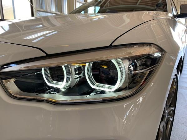 BMW ヘッドライトプロテクションフィルム左