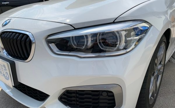 BMW ヘッドライトプロテクションフィルム