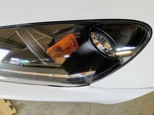 S2000・ヘッドライト研磨+コーティング1・作業後