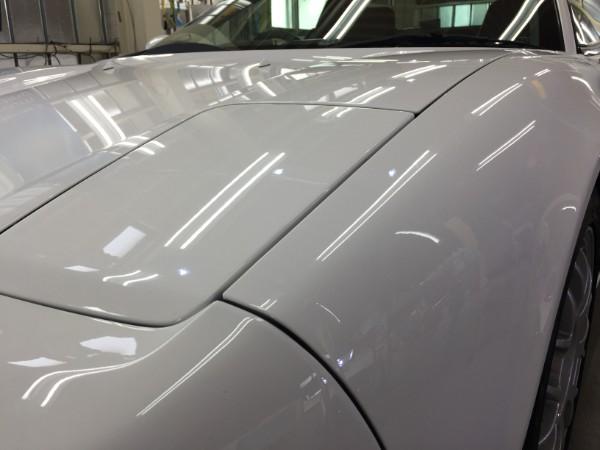 NSX・Sプレミアムコーティング(ダイヤ)・施工後の左ヘッドライト付近