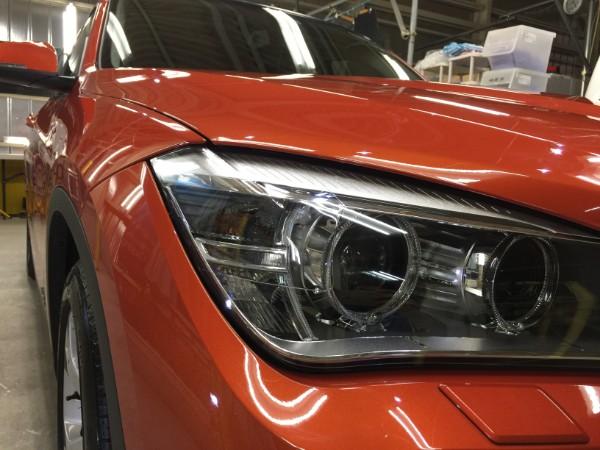 BMWX1・ヘッドライトプロテクション