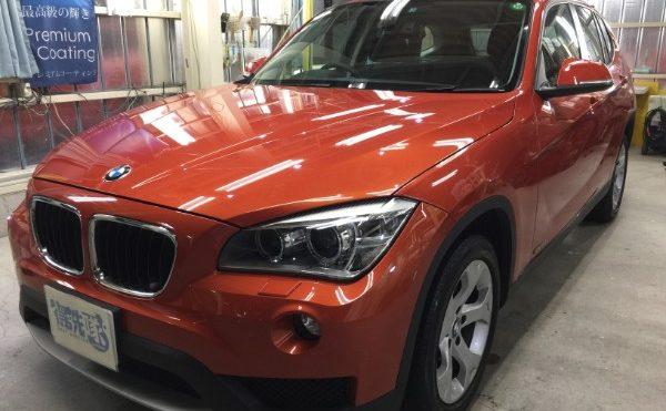 BMWX1・ボディコーティングなど