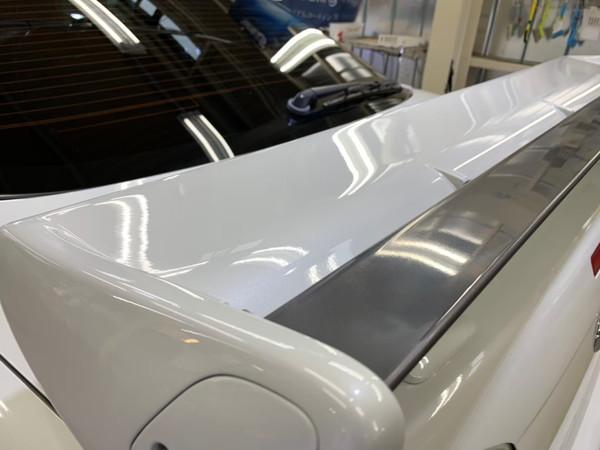 GT-R・ハイモースコート施工後のリアウイング